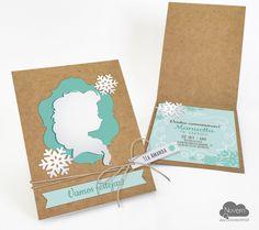 Convite Princesa do Gelo Frozen #convite #frozen #princesadogelo #elsa