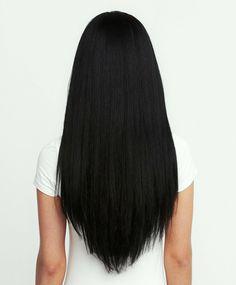 Corte de pelo en punta melena