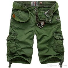 3f9626bec391 2019 100% Cotton High Quality Men Casual Short Men'S Cargo Leisure Half  Trousers Hot Camouflage Capri Overalls Beach Pants From Apparelone, $31.41  | DHgate.