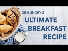 Dr Gundry Reveals Ultimate Breakfast Recipe - YouTube
