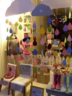 Window display at Little Lulu in Balaclava.