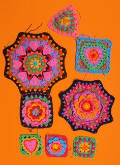 Form Crochet, Crochet Motif, Crochet Yarn, Crochet Stitches, Crochet Hooks, Crochet Patterns, Crochet Geek, Crochet Potholders, Crochet Cardigan Pattern