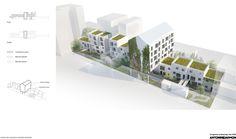 Gallery of 33 New and Rehabilitated Housing Units / Antonini + Darmon Architectes - 16