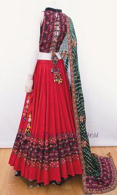 choli-Raas The Global Desi-[chaniya_choli_online]-[chaniya_choli_for_garba]-[chaniya_choli_for_navratri]-Raas The Global Desi Indian Gowns Dresses, Indian Fashion Dresses, Dress Indian Style, Indian Designer Outfits, Designer Dresses, Indian Wear, Garba Dress, Navratri Dress, Lehnga Dress