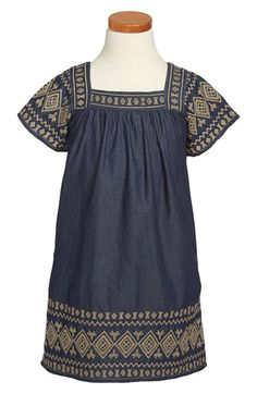 Peek 'Amaya' Dress (Toddler Girls, Little Girls & Big Girls) available at #Nordstrom