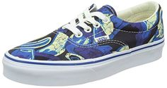 Vans Unisex Era Van Doren Blue Print Sneakers Low Top Skate Shoes 7 men 85 women >>> To view further for this item, visit the image link. (This is an affiliate link) #WomenFashionSneakers