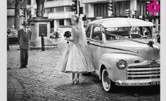 Look de novia de los años 50