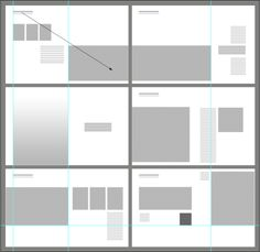 A grid is the basic framework that provides a structure and is a foundation  upon which the portfolio of design is constructed. The design portfolios has a feature in common that it uses simple gri...