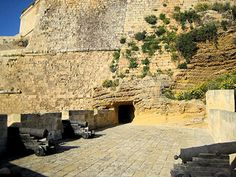 gunpowder magazine in Victoria in Gozo