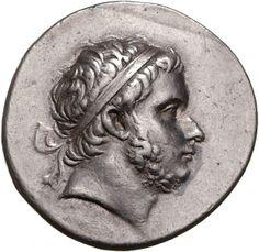 Tetradracma - argento - Bitinia (Turchia) (229-182 a.C.) - Prusias I barbato con diadema, di profilo vs.dx. - Münzkabinett Berlin