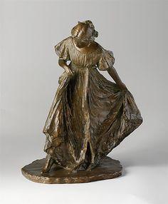 Bessie Potter Vonnoh (American, 1872–1955). Girl Dancing, 1897, cast ca. 1906. The Metropolitan Museum of Art, New York. Rogers Fund, 1906 (06.305) #dance