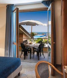 Itálie Toskánsko, Tirrenia, Residence Continental Resort. Dovolená u moře, apartmány u pláže, bazén, klimatizace, zahrada, parkoviště, restaurace.