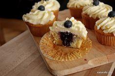 Blueberry and lemon cupcakes- the perfect birthday cake @Heidi Eastveld
