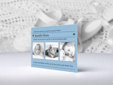 Personalisierbare Babykarten zu Geburt und Taufe