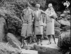 Russian boots in Pathe newsreel, 1930 Latest Fashion, Womens Fashion, Female Fashion, Something Old, Fur Coat, Costumes, Boots, Classic, Latest Styles