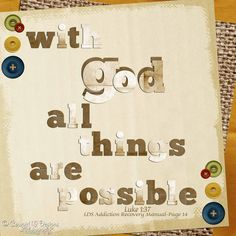 Siempre apegado a Dios