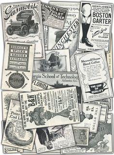 Vintage Print Advertisement Archive