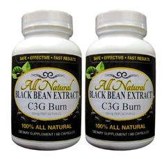 Amazon.com: Black Bean Extract|Powerful Weight Loss Formual|Pure C3G|Two Bottle Pack|60 mg Serving|60 Count Bottle|As Seen On TV Dr. Oz|No Shipping Charge: Health & Personal Care