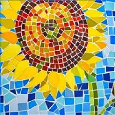 Kids Art: Paper mosaics
