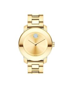 Movado Midsize BOLD Yellow Gold-Plated Watch 3600104
