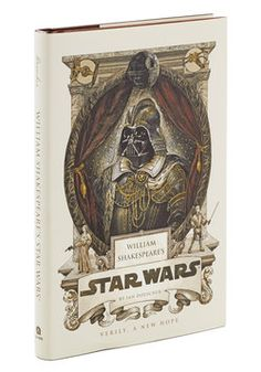 Now this would be a unique gift for the Star Wars fan! William Shakespeare's Star Wars, #ModCloth