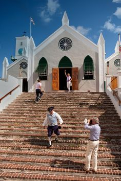 St. Peter's Church in St. George's, Bermuda. The oldest n the Western Hemisphere. Very interesting inside.