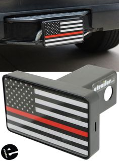 Texas Shaped SOLID METAL Heavy Duty Hitch Cover AMG Auto Emblems Premium State of Texas Police Flag