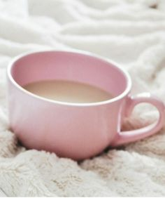 Pink cup and warm covers                                                                                                                                                                                 More