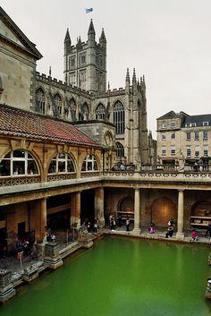 Les Thermes romains (The Roman Baths), Bath, Somerset, England