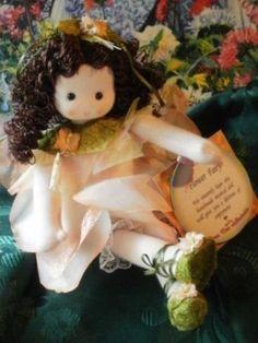 TANGERINE-FAIRY-Green-Tree-Music-Box-Doll-NEW-Waltz-Flower-NUTCRACKER-983-43