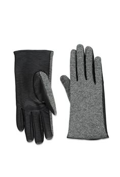 Faux Leather-Paneled Gloves | Forever 21 - 2000164294