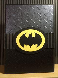 Batman card, superheroes super hero card - for boys, guys & little men