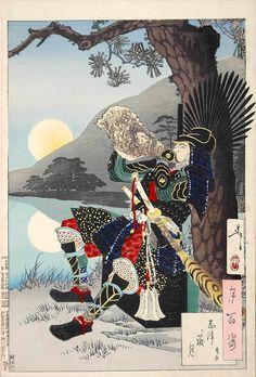 Illustration by Yoshitoshi Tsukioka, 1888.