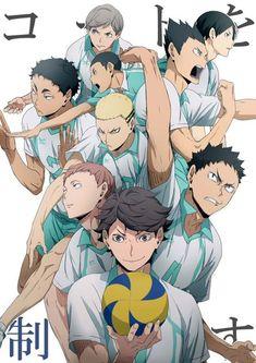 Ongoing • Haikyuu!! • Cheer Danshi!!