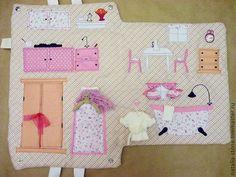 Кукольный дом ручной работы. Сумка-домик для куклы. Наталья К. Интернет-магазин Ярмарка Мастеров. Для девочки