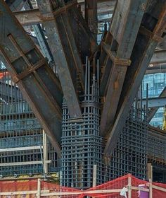 Civil Engineering Construction, Bridge Construction, Steel Frame Construction, Steel Structure Buildings, Concrete Structure, Structure Metal, Construction Container, Steel Frame House, Townhouse Designs
