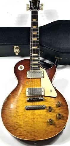 "2010 Gibson Custom 1958 Les Paul Reissue Dave Johnson ""Pearly Gates"" Makeover"
