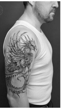New tattoo arm animal ideas 53 ideas Dragon Tattoos For Men, Arm Tattoos For Guys, Trendy Tattoos, New Tattoos, Girl Tattoos, Phoenix Tattoo Sleeve, Phoenix Bird Tattoos, Phoenix Tattoo Design, Feniks Tattoo