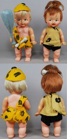 pebbles and bam bamm 60's dolls - Google Search