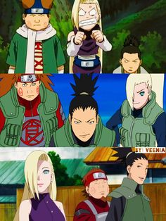 Focus On The Positive Naruto Shippuden Sasuke, Anime Naruto, Shikamaru, Gaara, Anime Manga, Naruto Art, Naruto Teams, Team 10 Naruto, Anime Nerd