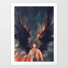 The Angel of the Lord Art Print by Alice X. Zhang - $15.00