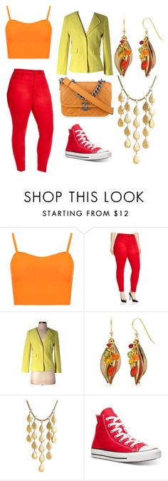 """""""Fall"""" by lauren53103 on Polyvore featuring WearAll, NYDJ, Ann Taylor, Chanel, Silver Forest, John Hardy, Converse, Fall and Costume"""