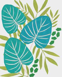 Hannah Rampley Botanical Collage www.hannahrampley.com