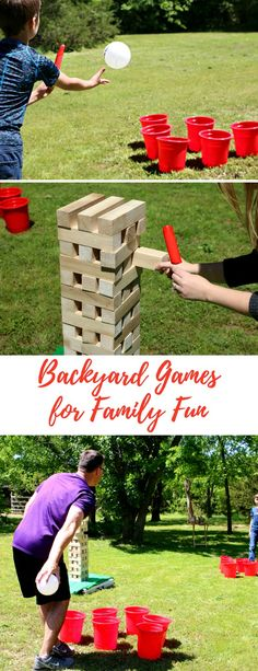 How to Set Up for Summer Backyard Games - Life. Family. Joy