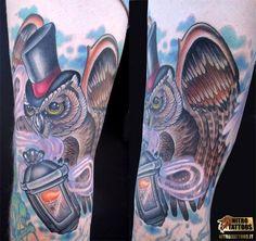 gufo tattoo immagini