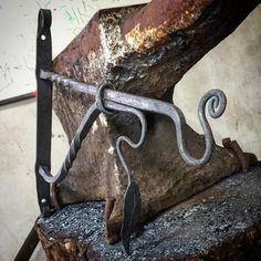 """127 Likes, 1 Comments - Hot Milk Forge (@hotmilkforge) on Instagram: """"One of the highlights from last weekends Blacksmithing weekend. #hotmilkforge #ironart…"""""""