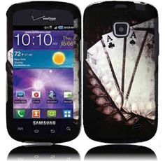Buy Samsung illusion I110 Samsung Galaxy Proclaim S720 Rubberized Design Cover - Vintage Ace NEW for 6.28 USD | Reusell