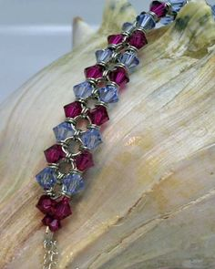 Crystal Chainmaille Bracelet by iKandiesJewelry on Etsy, $35.00
