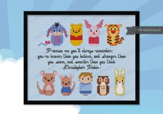 Winnie the Pooh (extended version) - Cross Stitch Patterns - Products