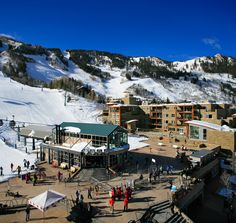The Residences at The Little Nell is located adjacent to the Silver Queen Gondola, in the Gondola Plaza, at the base of Aspen Mountain